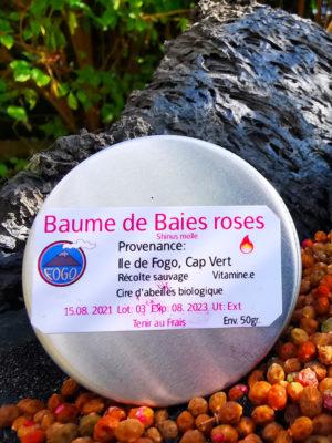 Baumes de baies roses